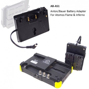 Snap-On Battery Adapter For Atomos Flame & Inferno