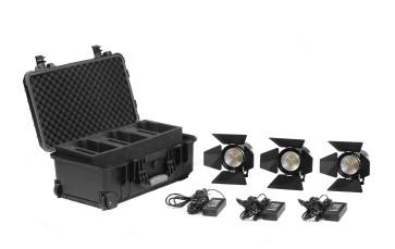 Practilte 602 Bi-Color Smart LED Fresnel 3 Light Kit
