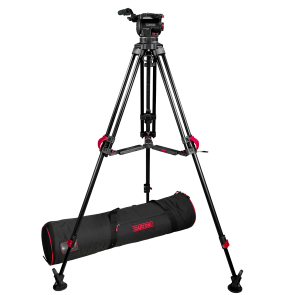 Focus 10 100mm with 2-Stg Red Lock Aluminum Tripod