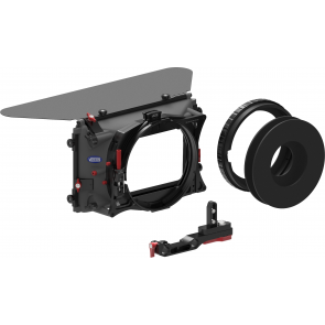 MB-436 Matte box kit for any camera with 15 mm rail support (incl. SA & Donut adapter ring)