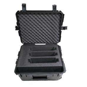Injection Molded Waterproof Case with Wheels/Foam