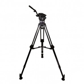 2 Stage Alm. 100mm HD Tripod
