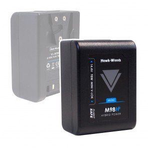 Mini V-Lok 98Wh 14.4v Li-Ion Battery with D-Tap
