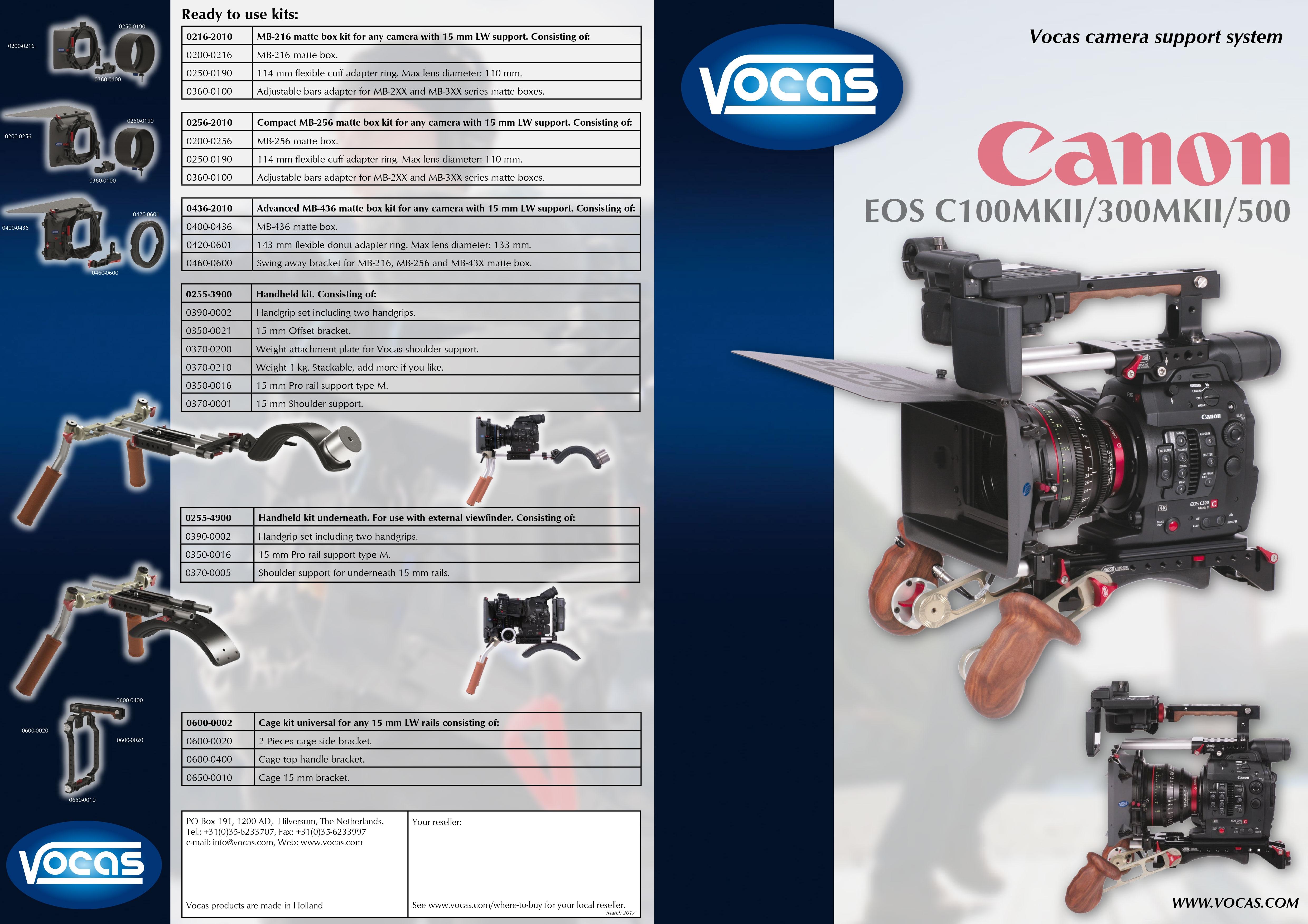 Vocas Canon C300