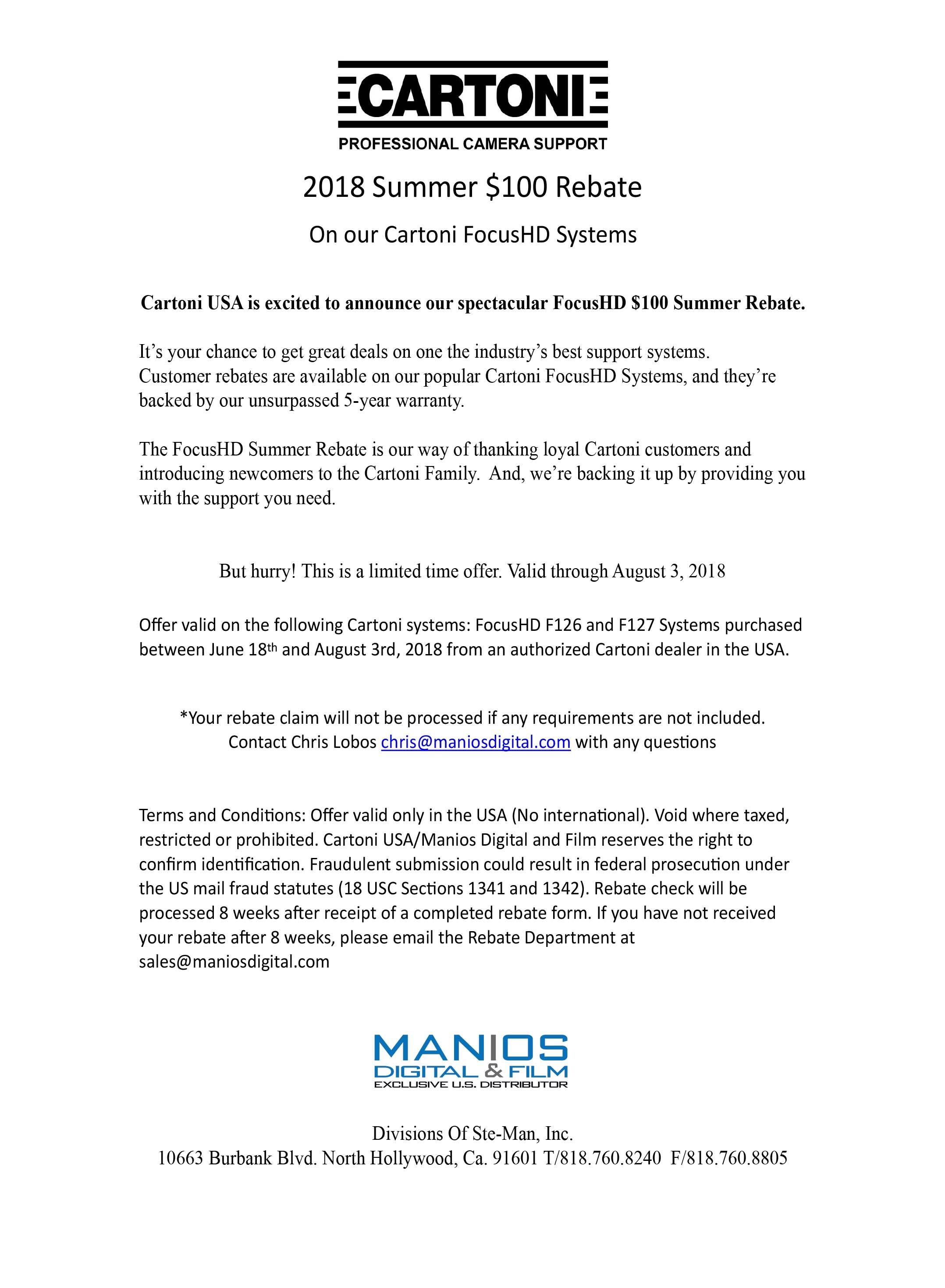 summer rebate rules